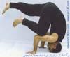 31- Yoga,Dorna one foot technique,M R Yahyaei,یوگا,تکنیک دُرنای یک پایی,استاد محمّد رضا یحیایی