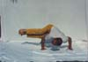 44- Yoga,Comperhensive,Technique Bird italics,Supreme Master M R Yahyaei,یوگا,تکنیک پرنده کج, استاد اعظم محمّد رضا یحیایی