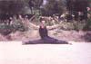 49- Martial Arts,Technique Sanchakov,Sai Samurai double,Open Foot 180 degrees,Supreme Master,Mohammad Reza Yahyaei,طریقت هنرهای رزمی, سانچاکو,سای سامورایی دوبل, پا باز 180 درجه,استاد اعظم,محمّد رضا یحیایی